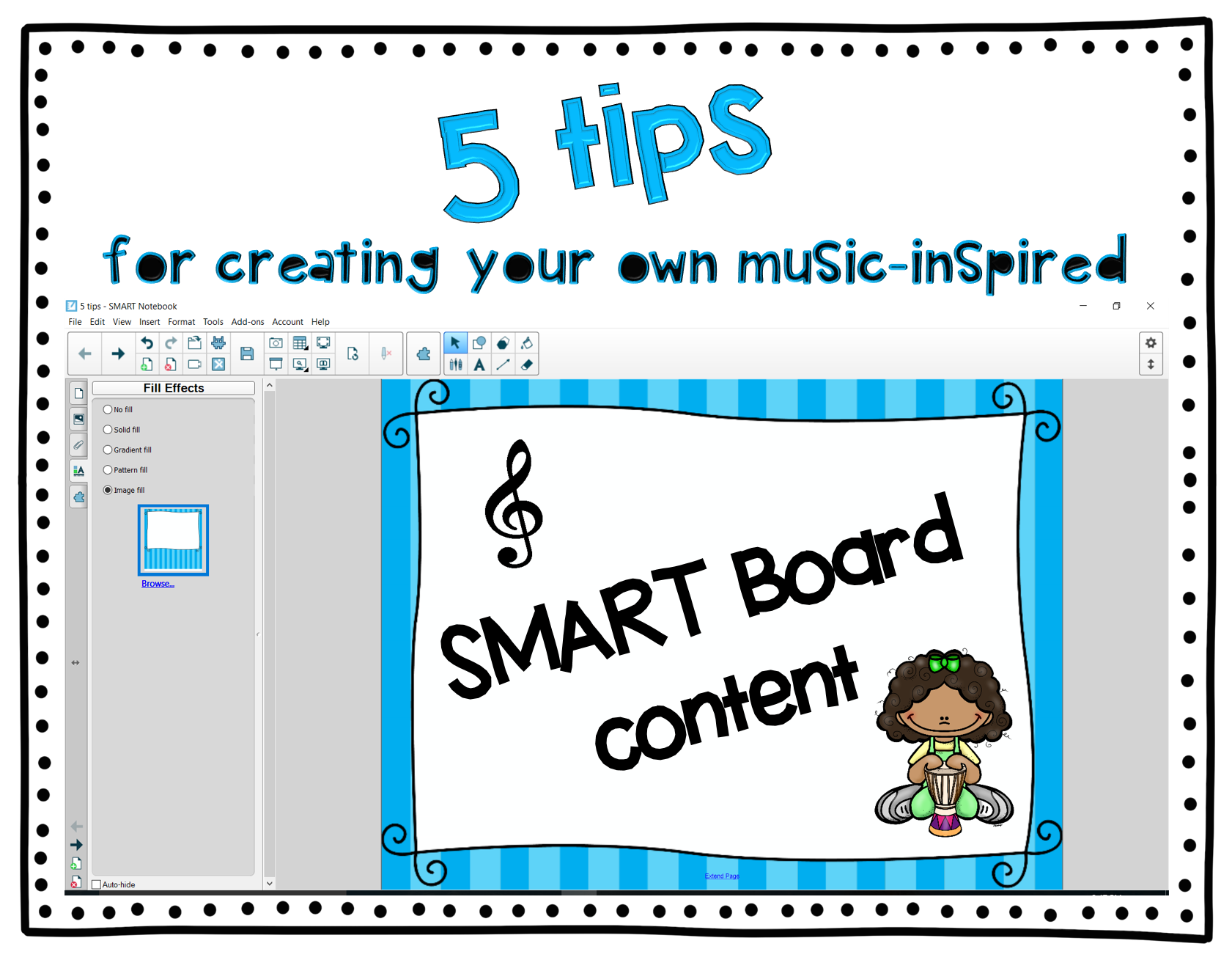 5 tips for creating your own music-inspired SMART Board content