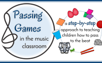 Passing Games in Elementary Music Classes